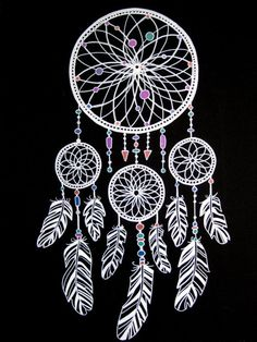dreamcatcher to paint - Buscar con Google