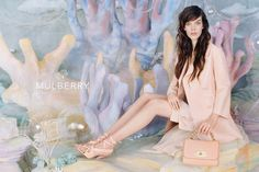 Meghan Collison for Mulberry spring/summer 2013