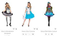 Alice in Wonderland Costumes Cheshire Cat Costume, Alice Costume, Queen Of Hearts Costume, Queen Costume, Mad Hatter Costumes, Cat Costumes, White Rabbit Costumes, Bathroom Beach, Shopping