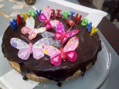 Πάστα ταψιού της Σόφης @Προκομμένες Birthday Cake, Desserts, Food, Tailgate Desserts, Birthday Cakes, Meal, Deserts, Essen, Dessert
