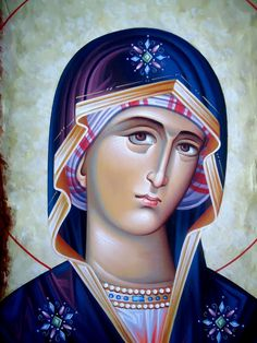 Religious Icons, Religious Art, Mother Mary, I Love You Mother, Divine Mercy Image, Orthodox Prayers, Spiritual Paintings, Images Of Mary, Byzantine Icons