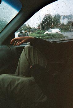 rainy car rides