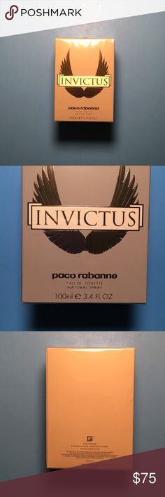Invictus Perfume Invictus For Men 3.4 oz EDT Spray By Paco Rabanne Paco Rabanne Accessories