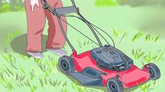 HOW TO MOW YOUR LAWN LIKE A PRO (JUST A SLAVE TO ROCKS N' SOIL)