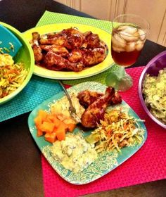 Chicken in a Hurry and Watergate Salad - recipes perfect for summer crockin'!