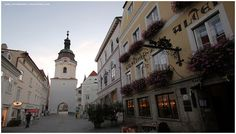 Krems, Austria - Would walk up and down this walking street a few times a day!