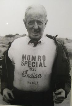 isay: Burt Munro, owner of the world's fastest Indian.