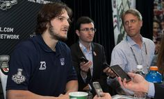 Stanley Cup Media Day: Dan Carcillo New York Rangers, Stanley Cup, Chicago Blackhawks, My Boys, True Love, Hockey, Dan, The Unit, Sports