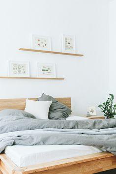 walden-austria, bed BOLD, wallbar ALGIN, oak