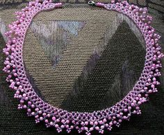 Pink Lattice - Beading Daily