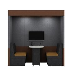 Zen 2 Person Pod provides a quiet space to either get your head down and concentrate on work or have a meeting in a quiet space. Office Pods, Zen 2, Workspaces, Open Plan, Acoustic, Walls, Traditional, People, Room