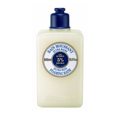 L'Occitane Ultra Rich Foaming Bath delivers a truly silky bath. This creamy bath soak releases a delicate foam rich in skin-regenerating shea butter and soothing oat milk to gently purify the...