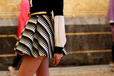 B/W Skirt