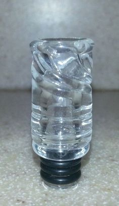 Unique Hand Blown  Glass Drip Tip for Tank, RDA, RBA Bid now on eBay to get this USA made beauty!  Auction ending now!