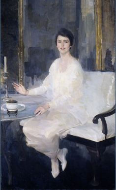Ernesta by Cecilia Beaux - 1914. An exquisite painting.