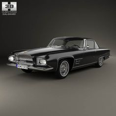 Dual-Ghia L6.4 coupe 1960 3d model from humster3d.com. Price: $75
