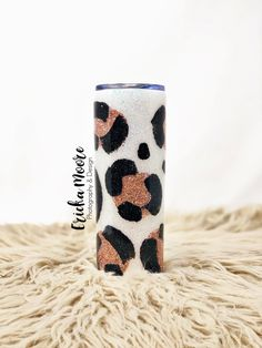 Create Your Own White Leopard Tumbler – Ericka Moore Photography & Design White Leopard, Snow Leopard, Create Your Own, Create Yourself, Tumbler Designs, Tumbler Cups, Custom Tumblers, Handcrafted Gifts, Handmade
