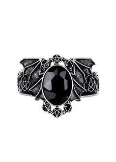 Restyle Silver Bat Bracelet