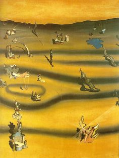 Yves Tanguy, Surrealism Painting, Japanese Prints, Gustav Klimt, Fantastic Art, Various Artists, Surreal Art, Les Oeuvres, Painting & Drawing