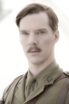 Benedict Cumberbatch the Batch Stache is Killer <3