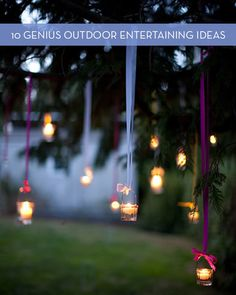Roundup: 10 Clever Outdoor Entertaining Ideas » Curbly | DIY Design Community
