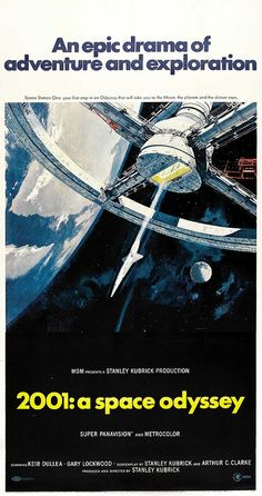 I really like this poster, The painting of the space station really sets it nice. The simplicity of the type being center aligned near the bottom and a tag line above the main body of the poster breaks up the darkness of it. The image may not give any of the story away but sets the scene for the film.