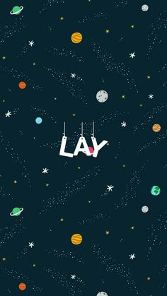 Lay wallpaper