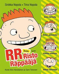RR kuin Risto Räppääjä Childhood Memories