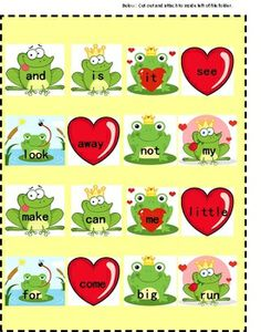 Valentine's Day File Folder Games: Here are 7 file folder games with a February Valentine's Day theme. These Valentine's Day file folder games make great independent work tasks for children with autism or other special education needs. They would also be appropriate for a kindergarten or preschool classroom.  The Valentine's Day printable file folder games include: Feelings  Alphabet  Numbers  Patterns  Dolch Words (pre-primer)  Counting  Shapes
