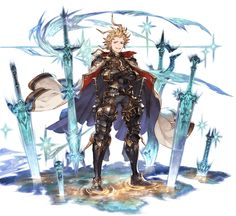 View an image titled 'Seofon Art' in our Granblue Fantasy art gallery featuring official character designs, concept art, and promo pictures. Game Character Design, Fantasy Character Design, Character Design References, Character Design Inspiration, Character Concept, Character Art, Anime Fantasy, Fantasy Art, Granblue Fantasy Characters