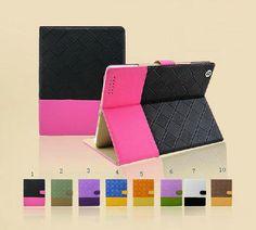 8color ipad mini case ipad air cases ipad 2 / 3/4 by danistong, $24.99