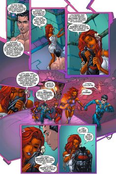 Redhood and Starfire