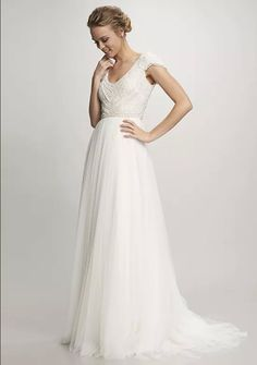 3270ed20e9069 BRAND NEW Theia Nima Wedding Gown Size 4 w/ tags MSRP $2025 #fashion #