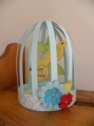 birdcage paper templates - Google Search