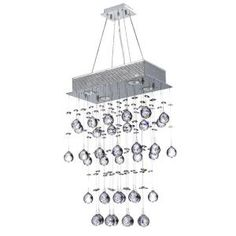 Icicle Collection Crystal Chandelier