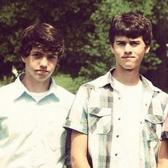John Luke and Cole Robertson  Oh my goodness yes please.