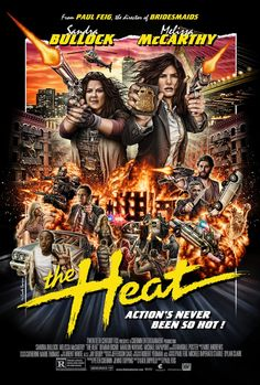 The Heat Mondo Poster Pays Tribute To '80s Action Movies