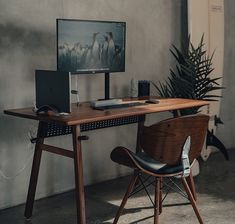 Home Office Setup, Home Office Design, Office Desk, Computer Desk Setup, Gaming Desk, Small Workspace, Desk Space, Black Interior Design, Workspace Inspiration