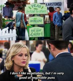 Oh Leslie, we share a love for puns