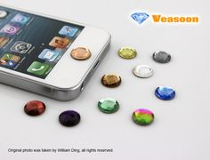 iphone home button stickers.