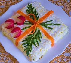 Вкусно и красиво - Food Art. Праздничные салаты, украшение салатов