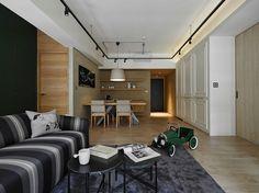 AworkDesign.studio, K house, фото лофт, современный интерьер, квартира в стиле…