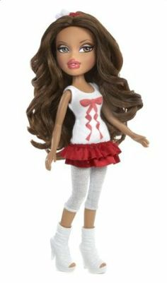 Bratz Holiday Yasmin by Bratz. $10.95. Bratz doll in super-stylish holiday fashions. From the Manufacturer                The Bratz are flaunting some seriously stylish holiday spirit. Their fashions are totally festive as they show that confident Bratz attitude.                                    Product Description                Holiday Bratz Yasmin Doll. Save 27% Off!