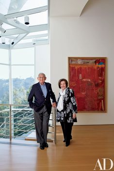 A Frank Gehry—Designed Brentwood Estate with a Museum-Worthy Art Collection