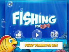 Рыбалка для детей и малышей на планшет Андроид