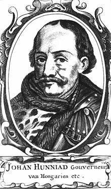 John Hunyadi, the White Knight of Hungary, and his son King Matthias Corvinus.