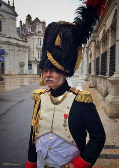 Ufficiale dei cacciatori a piedi della guardia imperiale francese