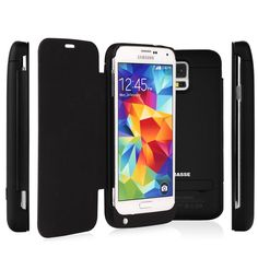 [NEW RELEASE] Rasse 3200mAh Samsung Galaxy S5 Battery Case