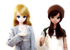 Smart Doll Kizuna Yumeno and Ebony by Antheia8