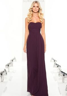 Love this dress and the color for a fall wedding!